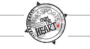Featured in passports from the heart
