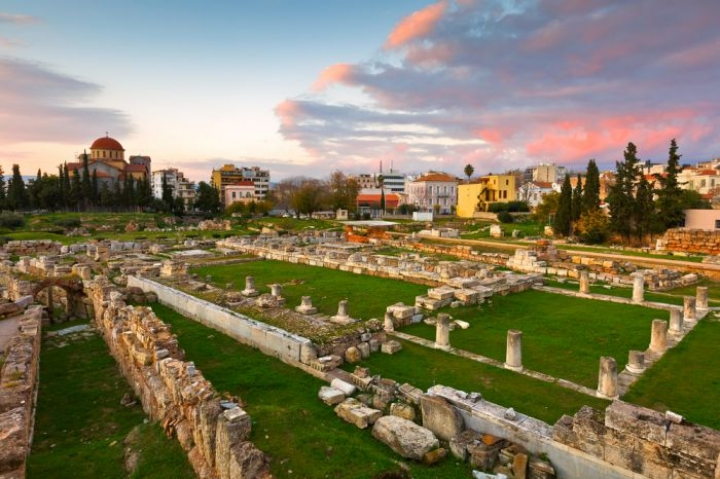 Archaeological site of Kerameikos nearby the ancient Agora in Athens - credits: Milan Gonda/Shutterstock.com
