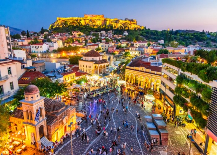 Athens overview - credits: cge2010/Shutterstock