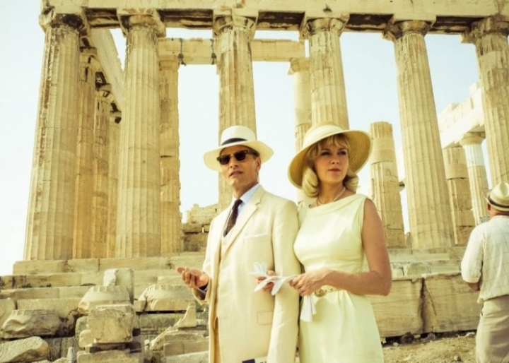 """The two faces of January"" filmed on the Acropolis of Athens"