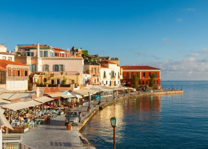 Harbor of Chania - credits: Neirfys/Depositphotos.com