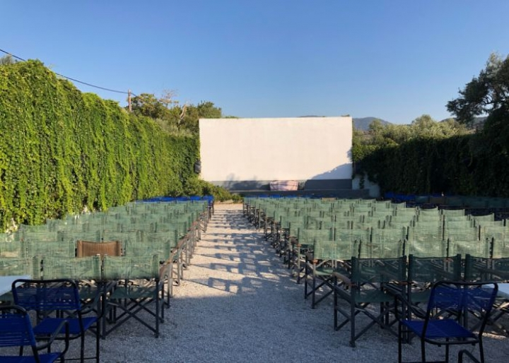 Open-air cinema in Athens - credits: gezginadvisor/Shutterstock.com
