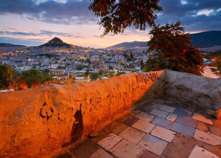 View from Lycabettus hill - credits: Milan Gonda/Shutterstock.com