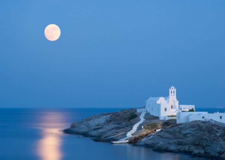 The little church of the Seven Martyrs at Kastron, Sifnos -