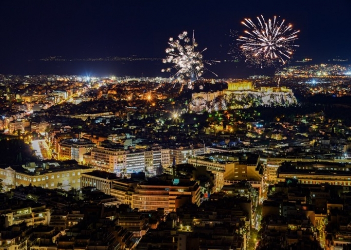 New Year's Eve in Athens 2018