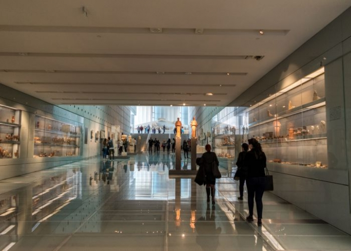 The ground floor of the Acropolis Museum - credits: Paopano/Shutterstock.com